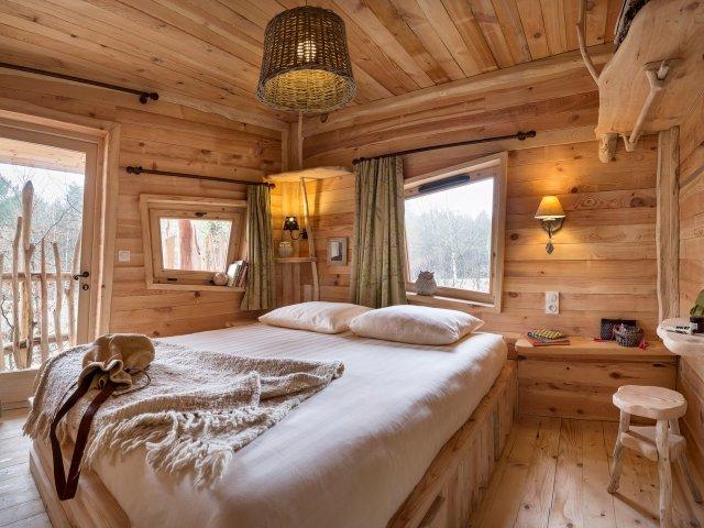 Cottage domaine le bois aux daims for Du bois dans ma maison
