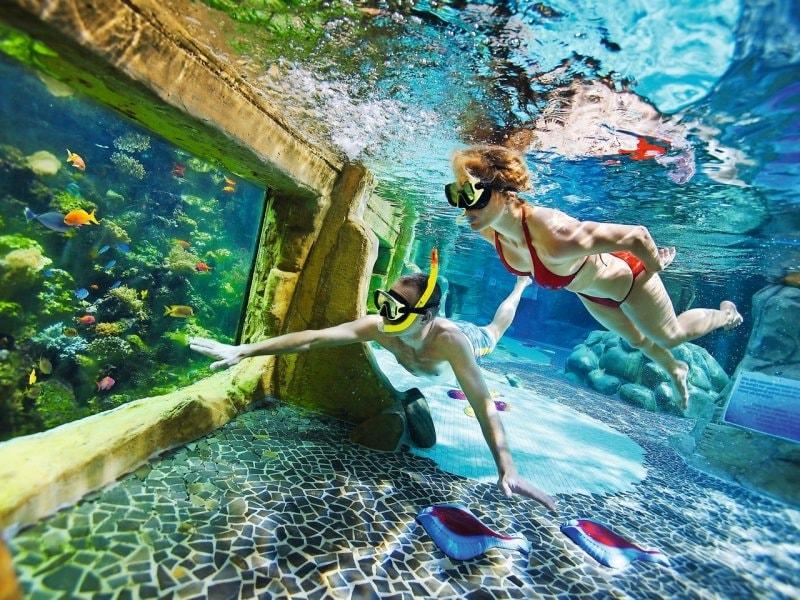 Aqua mundo de kempervennen