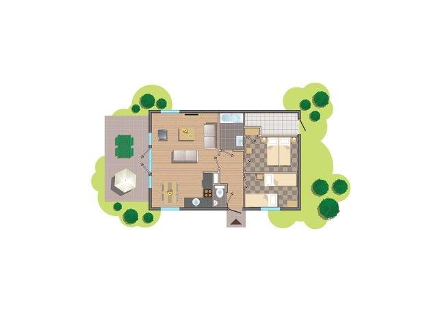Comfort-Ferienhaus